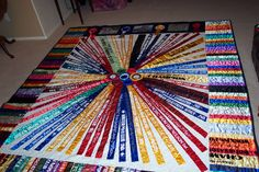 more than one fair quilt shown here. beautiful Horse Ribbon Display, Show Ribbon Display, Horse Show Ribbons, Ribbon Quilt, Diy Ribbon, Ribbon Crafts, Diy Crafts, Trophy Display, Award Display