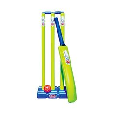 Feature: Cricket set gift for kids. No Harmful Chemical Used Material: Plastic Minimum Age: 3 Year Old Size: Medium Use For: Gifts to Kids /Birthday Gifts to Girls. Basketball Equipment, Sports Equipment, Baby Jesus Pictures, Cricket Equipment, Backyard Toys, Cricket Bat, Kids Birthday Gifts, School Sports, Soccer Training