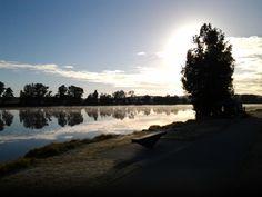 Morning by Moruya river