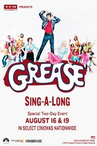 Grease Sing-A-Long - 8.16.15 and 8.19.15 only