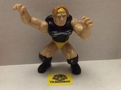 (TAS003940) - WWE WWF WCW nWo Wrestling Mini Action Figure - DX Sid Vicious
