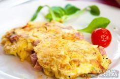 Receita de Fritada de presunto em receitas de ovos, veja essa e outras receitas aqui!