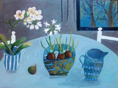 Este Macleod still life with chairs