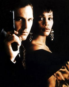 "In Whitney Houston starred alongside Kevin Costner in the film, 'The Bodyguard"" Whitney Houston, Kevin Costner, Great Films, Good Movies, Greatest Movies, 2 Movie, Movie Stars, Beverly Hills, Guinness World"