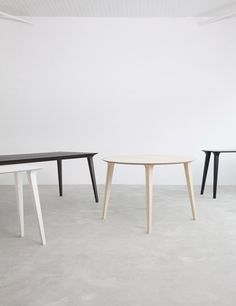 love-spain:  STUA Lau table: round or rectangular & the...