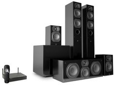 Aperion Audio Intimus 4T Summit Touts Uncompressed Surround Sound Without The Cords.