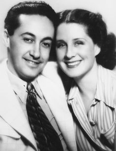 The last portrait of producer Irving Thalberg and his wife Norma Shearer, taken in He died of pneumonia that year, at the age of Old Hollywood Movies, Hollywood Icons, Golden Age Of Hollywood, Vintage Hollywood, Classic Hollywood, Hollywood Couples, Hollywood Style, Popular Actresses, Canadian Actresses