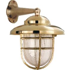 Tuscanor - Industrial Style Cast Bronze Wall Light - TUS72a