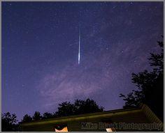 Astrophotographer Mike Black sent in a photo of Perseid meteors taken from Belmar, New Jersey, August 5-6, 2013.