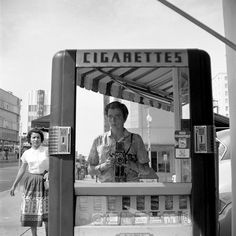 Vivian Maier - Untitled, Undated (Self-portrait in Telephone Booth)