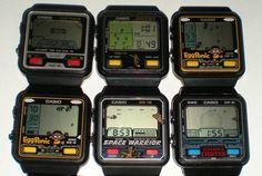 Casio Game Watch. My precious time killer when i was in primary school