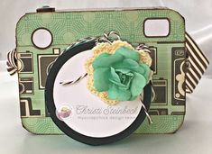Scrapping for Tranquility : My Scrap Chick- Camera Gift Box