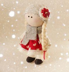 Rag dolls handmade tilde doll gift idea home by DollsTalismans