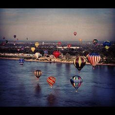 Great Mississippi River Balloon Race is an event you won't want to miss. This event happens every third weekend in October.