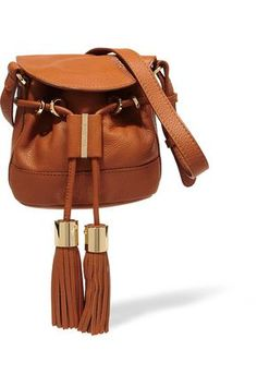 cd26a8491e70 see by chloe- Vicki mini textured-leather shoulder bag