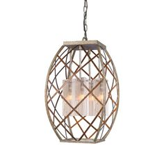 Woodbridge Lighting Braid 4 Light Foyer Pendant