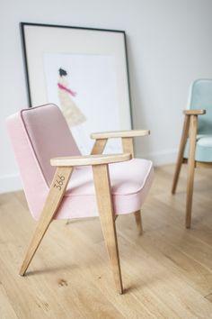 366 VELVET Cadeira lounge by 366 Concept s.c. design Józef Chierowski
