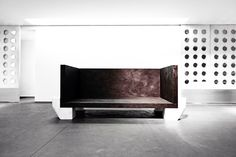 RICK OWENS TURBO-L.A.-MONUMENTAL FURNITURE EXHIBITION AT MAXFIELD GALLERY, LOS ANGELES