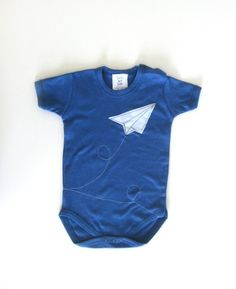 Paper Airplane Onesie. $17.00, via Etsy.