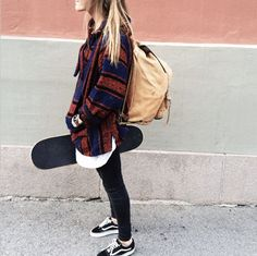 af6d19ba92 Casual fall perfection Skate Style Girl