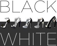 shoes design app_YPU ARE THE DESIGNER_ BLACK & WHITE