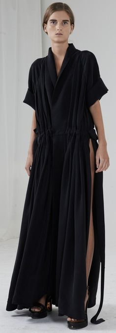 Silk Dress by Valery Kovalska from the spring/summer 2015 collection exclusively…