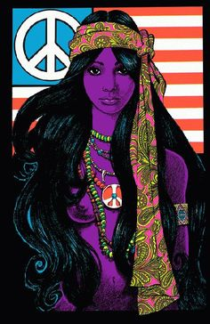 High quality reprinted art print poster titled Gypsy Girl. 11 x 17 high quality reproduction on card stock.