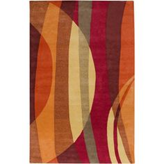 @Overstock - A geometric pattern accents this hand-tufted wool rug. Shades of red, orange and grey highlight this area rug.http://www.overstock.com/Home-Garden/Hand-tufted-Motley-Wine-Wool-Rug-8-x-11/5543226/product.html?CID=214117 $422.99