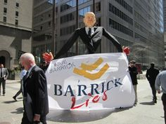 Barrick Gold Faces Demonstration Against Human Rights, Environmental Abuses at Toronto AGM