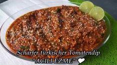 Türkischer Tomaten-Dip - Rezept von Punds Backparadies Tomate Mozzarella, Meatloaf, Pesto, Dips, Beef, Food, Youtube, Dip Recipes, Turkish Recipes