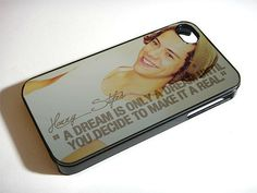 Case iphone 4 and 5 for harry styles one direction quote on Etsy, $14.89
