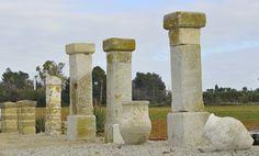 columnas,decoracion,reforma,antigua,venta,piedra