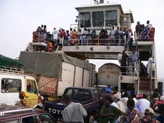Barra Ferry, The Gambia. Love that the credit for this photo is to Juniata faculty! #WanderingSole