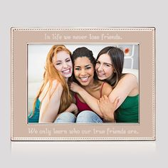 5x7 Rose Gold Beaded Frame - A classic beaded frame is given an update with this lovely rose gold finish. Your words will complete this frame - choose to have it engraved for a personal touch that will be cherished.