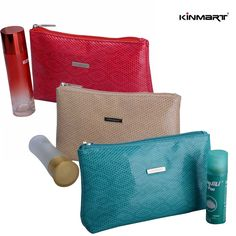 Small but any women must-haves Cosmetic Bag, Great for daily use or can be bulky personalized as Corporate Gift Bag