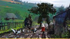 красивые-картинки-Steampunk-Jakub-Rozalski-Dieselpunk-1780489.jpeg (1920×1067)
