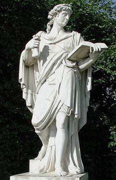 Le Mélancolique, by Michel de Perdrix (1680). One of the Four Humors of Man, from the gardens at Versailles.