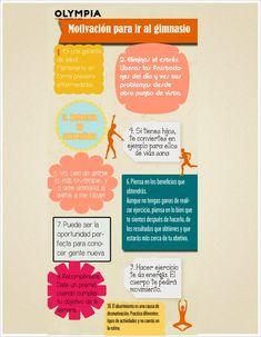 motivación para ir al gimnasio. 10 razones para seguir adelante :)