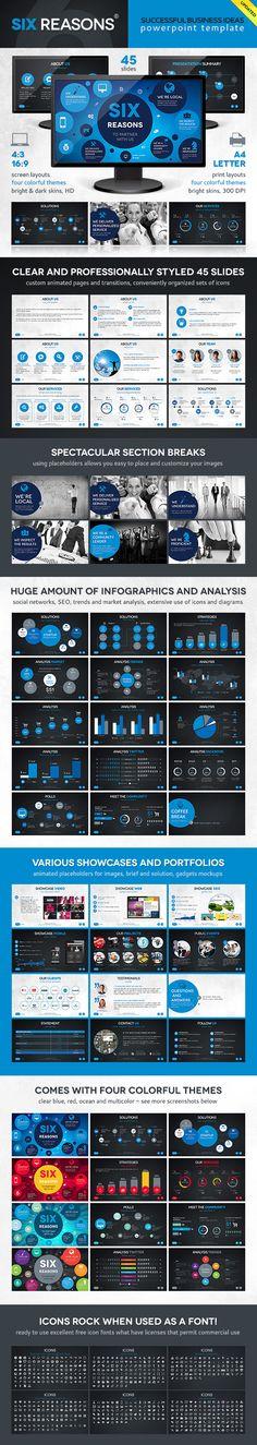 Six Template - PowerPoint Templates Presentation Templates