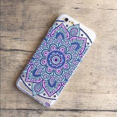 iPhone 6/6s Case  LAST ONE Please DO NOT purchase this listing if you would like one comment below and I'll create for you a separate listing. Price is firm. Beautiful  Mandala Floral Paisley Hard Case. Brand New with tags. Accessories Phone Cases