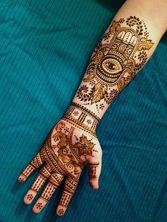 Hamsa Henna