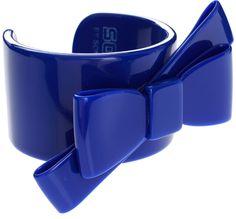 Blue Bow Cuff