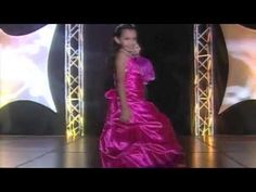 National American Miss Pageant Formal Wear Example (Video)