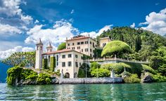 Villa del Balbianello, along Lake Como, Italy, is where Anakin Skywalker and Padme%u0301 Amidala were married in Episode II: Attack of the Clones. (From: Visit These 'Star Wars' Destinations! )