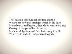 Ulysses - Alfred Tennyson