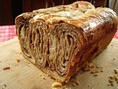 Polish Christmas bread: Gosh, I hope I can turn this GF! It looks amazing!