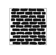 The Crafter's Workshop - 6 x 6 Doodling Templates - Mini Bricks at Scrapbook.com $4.99