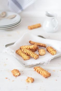 Wiem co jem Polish Recipes, Polish Food, Cannoli, Aga, Cake Cookies, Truffles, I Foods, Almond, Cereal