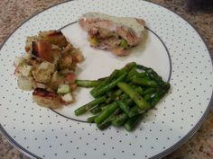 Apple Stuffed Porl Chops with Herbed Gravy - Michelles Recipe Binder