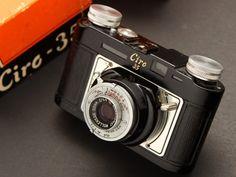 Black Paint Ciro 35 Rangefinder Camera - 1950